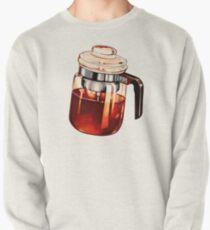 Kaffee Percolator Muster Sweatshirt