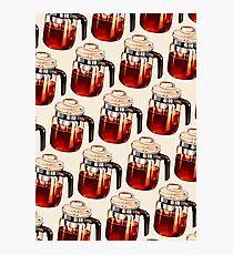 Coffee Percolator Pattern Photographic Print