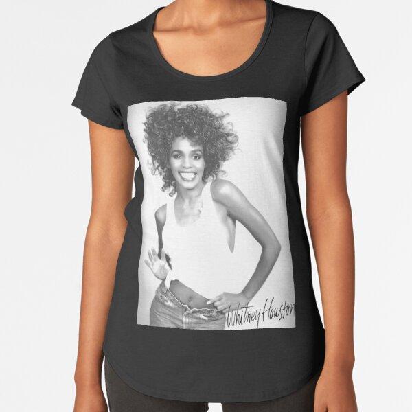 Whitney Premium Scoop T-Shirt