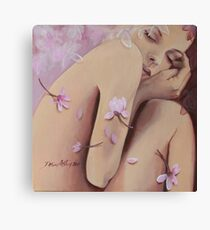 Magnolia's silence Canvas Print