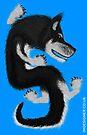 Dragon dog Husky by errorface