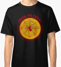 Halloween TrickOrTreat Spider Classic T-Shirt