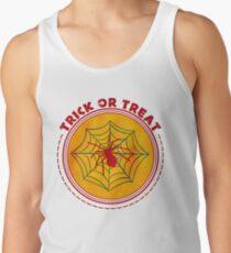 Halloween TrickOrTreat Spider Tank Top