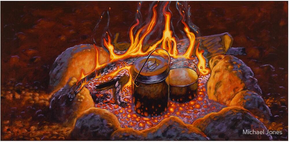dad's cooking by Michael Jones