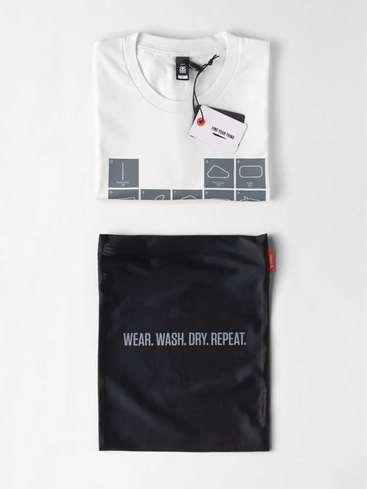 Alternate view of Elements of Racing - Grey Premium T-Shirt