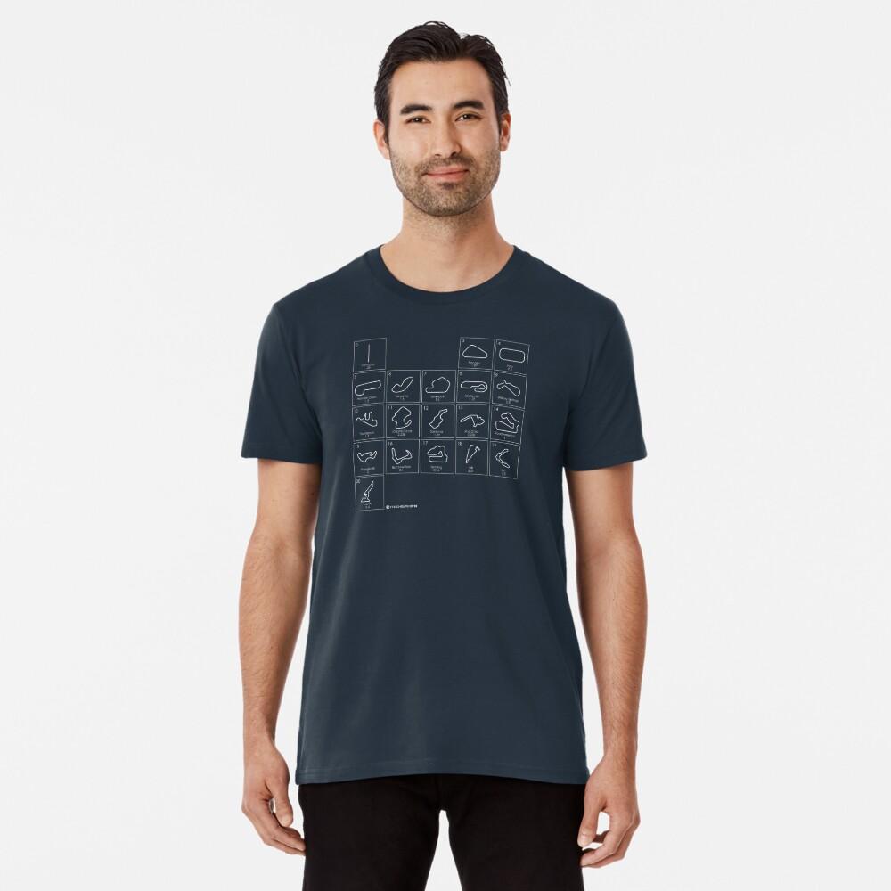 Elements of Racing - white Premium T-Shirt