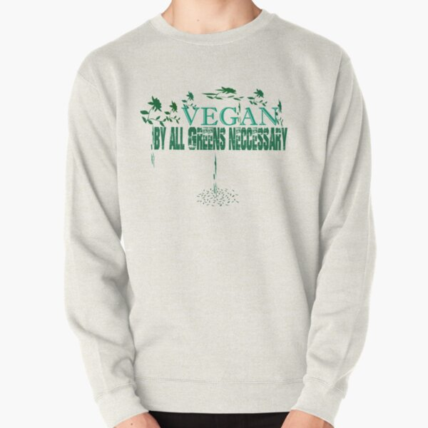 Vegetarian Ancient Tribal Slang For The Village Idiot 2-tone Hoodie Pullover