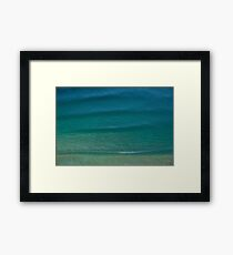 NE Beach Lines Framed Print