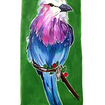 Lilac Breasted Roller by sinamonroll