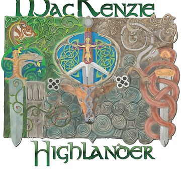 MacKenzie Highlander by woodencelt