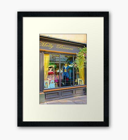 Molly Browns - York Framed Print