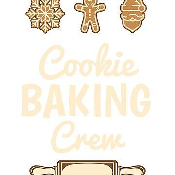 Cookie Baking Crew, Christmas Shirts, Christmas Shirts For Women, Christmas Tshirt, Christmas T Shirt, Christmas Tshirt Women, Christmas Tees by mikevdv2001