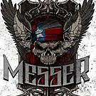 MESSER TEXAS SKULL by MESSERBAND