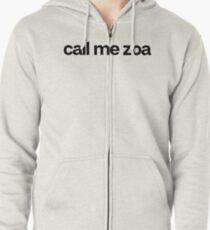 Call Me Zoa - Cool Custom Stickers Shirt Zipped Hoodie