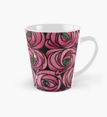 "Charles Rennie Mackintosh ""Roses and teardrops"" original Tall Mug"