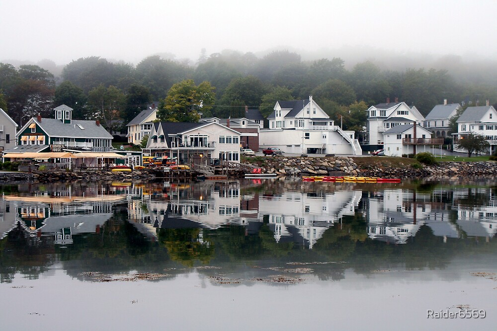 Reflections of Maine by Raider6569