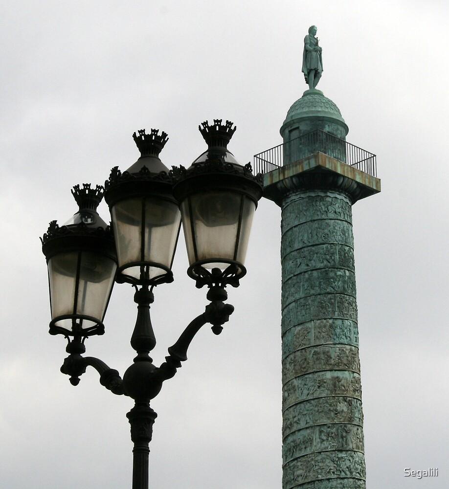 The Place Vendome Column by Segalili