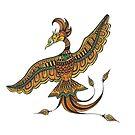Phoenix Rising  by marinaleclair