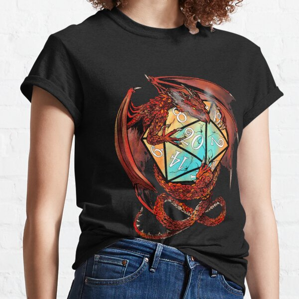 Red Dragon Dice Classic T-Shirt