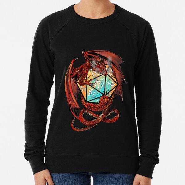 Red Dragon Dice Lightweight Sweatshirt