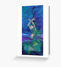"""""""Entangled in your love""""  - from """"Whispers"""" series Greeting Card"""