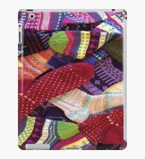 Sock Addict -Hand knit socks available at tinasox.etsy.com iPad Case/Skin