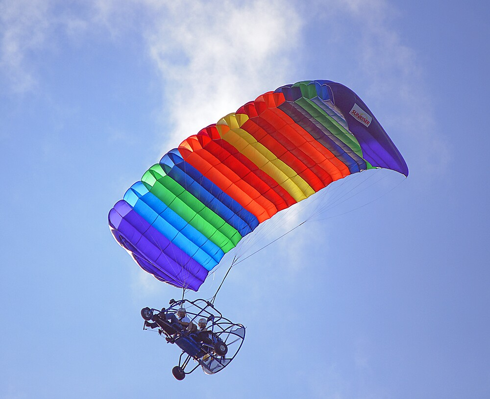 Motorized Parachute by Kenneth Albin