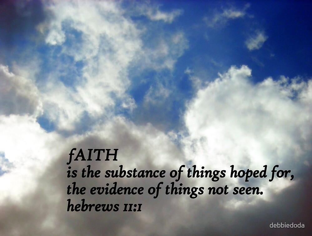 Faith by debbiedoda