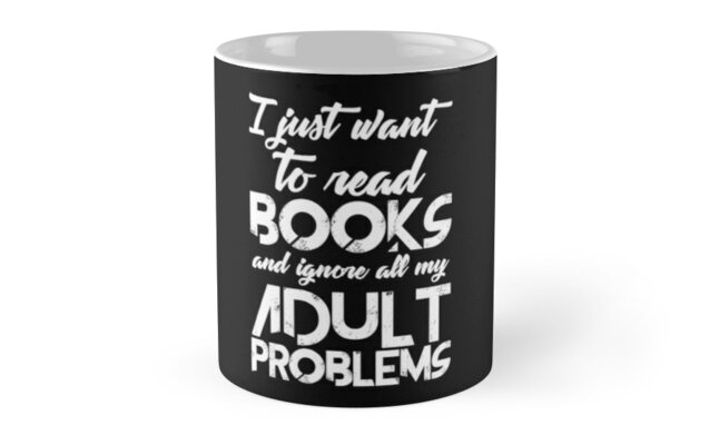 Read Books And Forget Problems by itsaboutdes