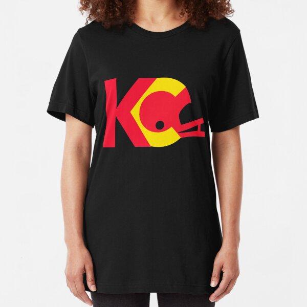 KC Chiefs: Helmet Logo Slim Fit T-Shirt