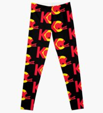 KC Chiefs: Helmet Logo Leggings