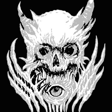 Skull Machine, Satanic Shirt, Satan Occult, Death Metal, Metal Head, Rock Band, Hard Rock, Heavy Metal by kraftd