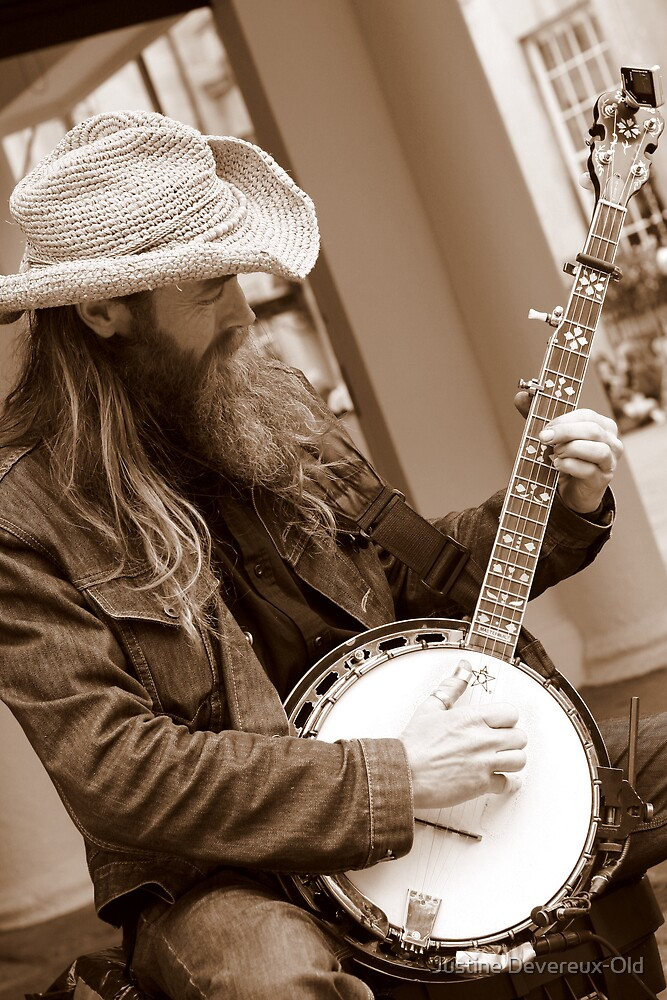 Banjo Man! by Justine Devereux-Old
