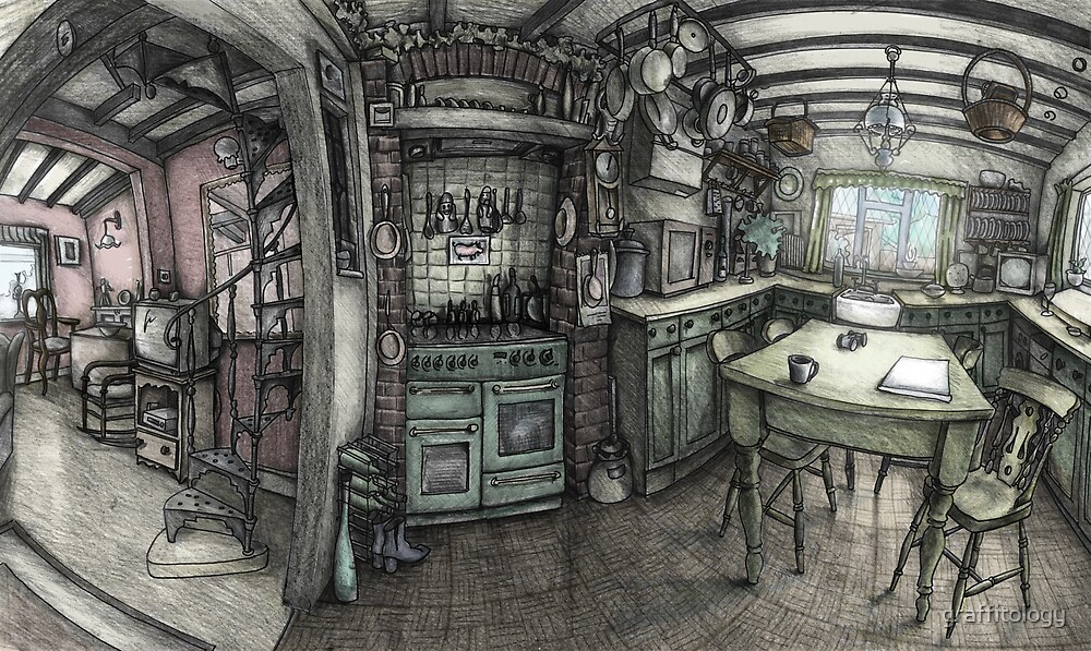 kitchen two by graffitology