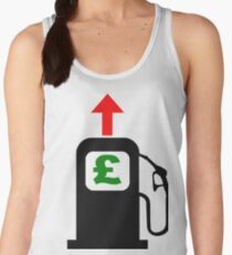 Rising Petrol Prices in the United Kingdom Women's Tank Top