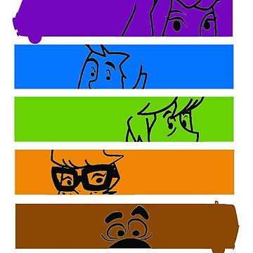 The Scooby Gang by thatKONNORguy