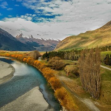 Above Matukituki River by charlesk