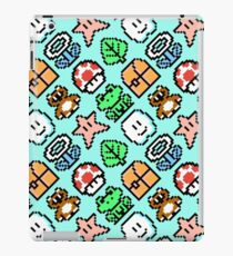 Funny Super Mario Bros. 3 Items pattern BSL8R iPad Case/Skin