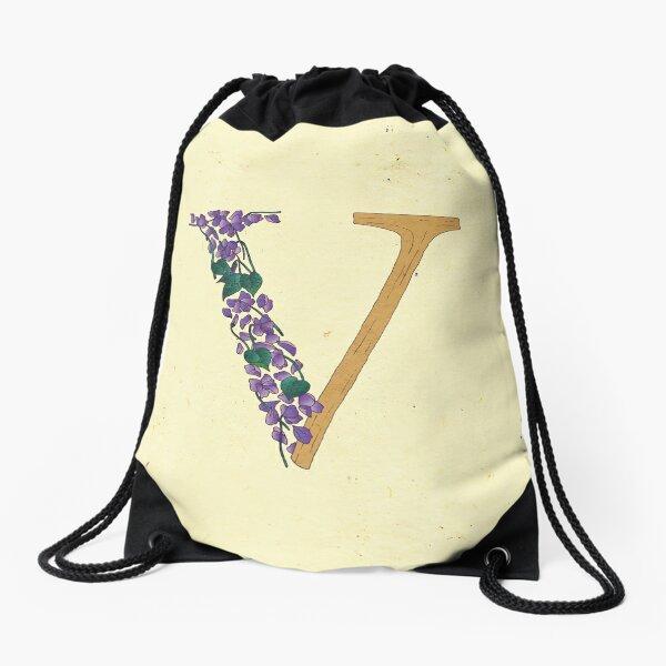 Le Jardin de Adalaine - V Drawstring Bag