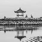 Sanur Bay Reflection by Michael Frost