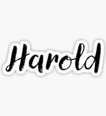 Harold - süße Mädchen Namen für Frau Tochter Sticker
