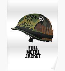 Full metal jacket - Stanley Kubrick Poster