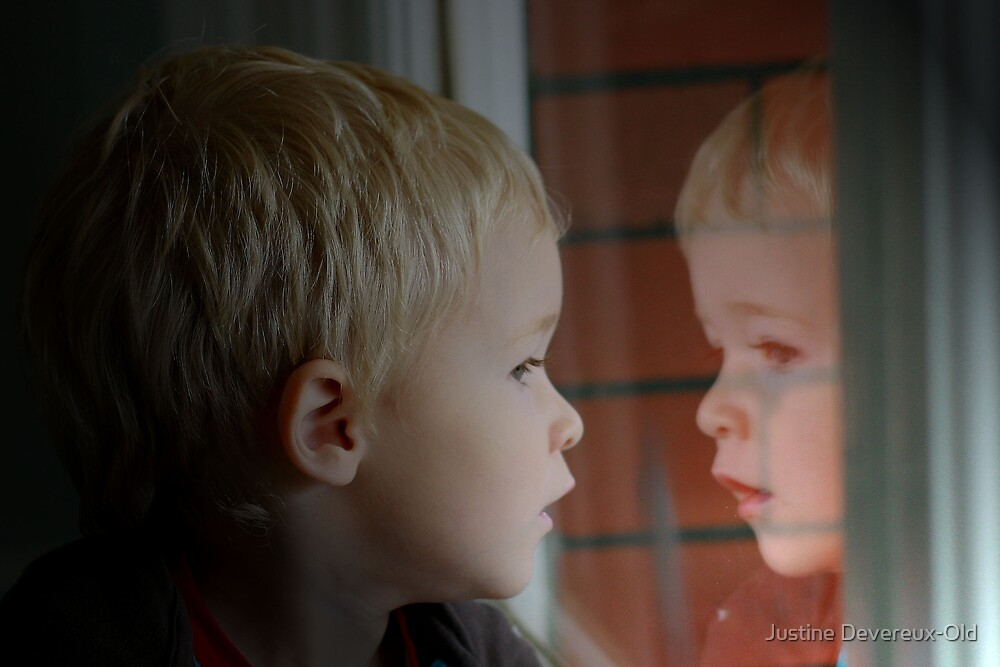 Reflecting... by Justine Devereux-Old
