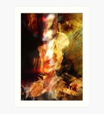 abstract fetish one Art Print