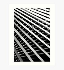 Grids Art Print