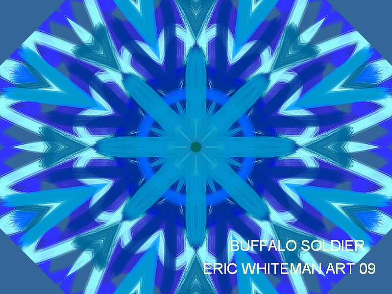 ( BUFFALO SOLDIER )  ERIC  WHITEMAN ART  by ericwhiteman