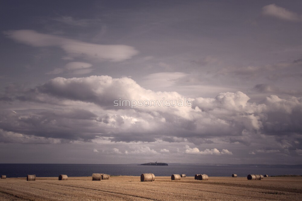 Harvest Time in Scotland by simpsonvisuals