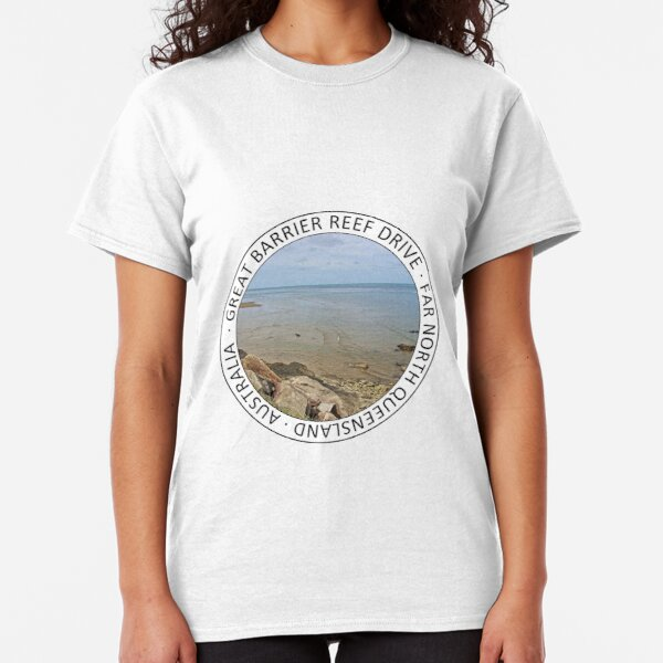 Great Barrier Reef Drive stop Classic T-Shirt