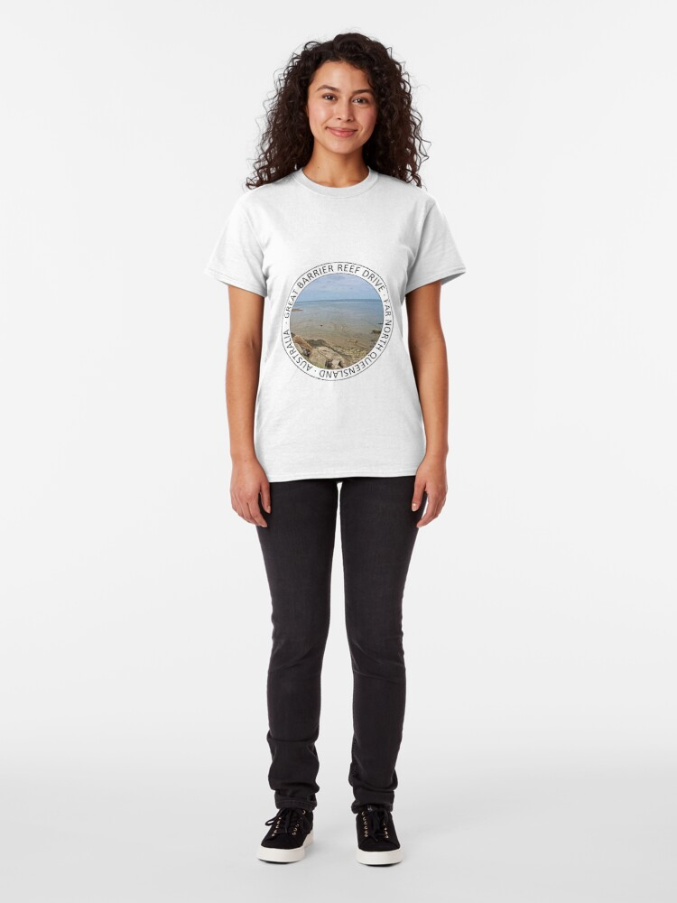 Alternate view of Great Barrier Reef Drive stop Classic T-Shirt