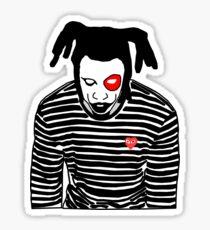 Denzel Curry- Clout Cobain Sticker